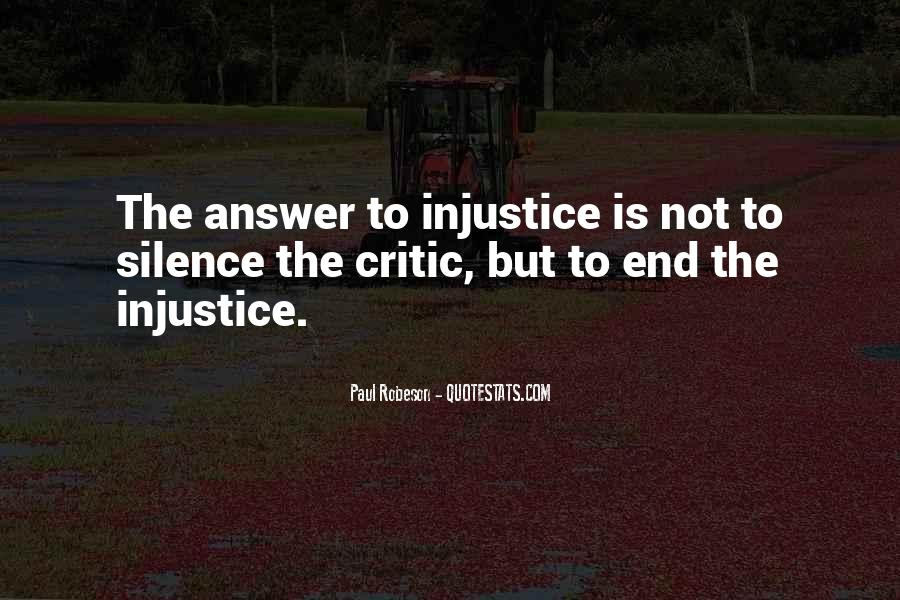 Quotes About Silence And Injustice #1853560