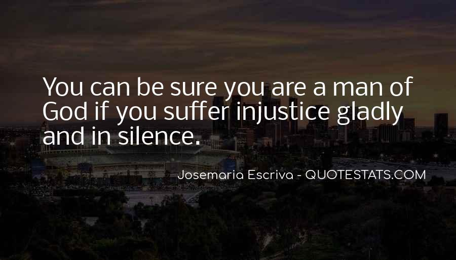 Quotes About Silence And Injustice #31734