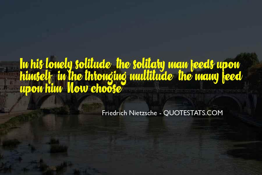 Quotes About Lonely Man #1307561