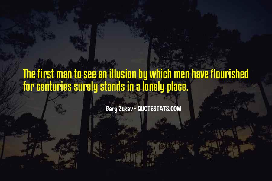 Quotes About Lonely Man #1429441