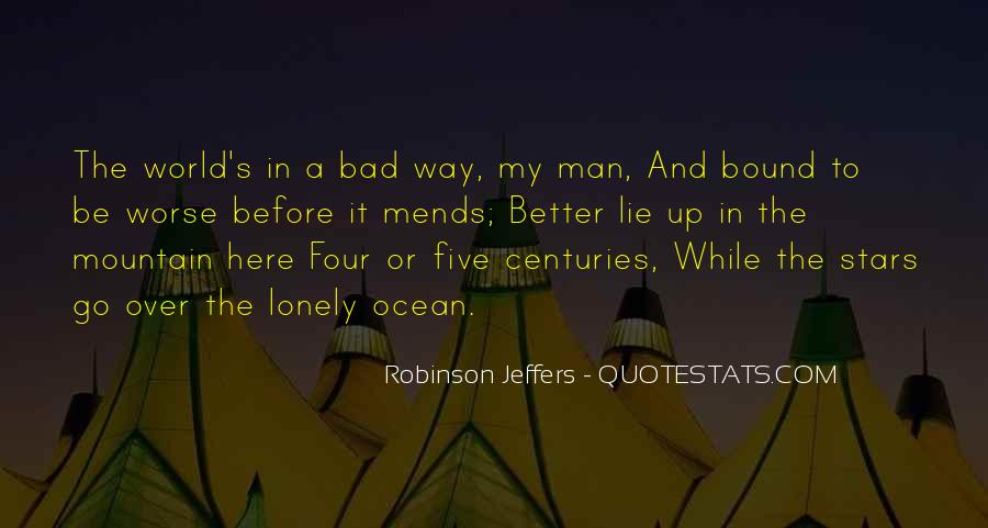 Quotes About Lonely Man #1454493