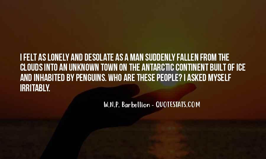 Quotes About Lonely Man #1544598