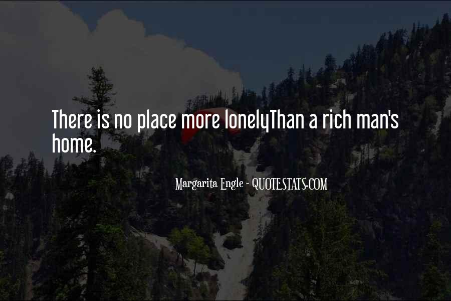 Quotes About Lonely Man #1560176