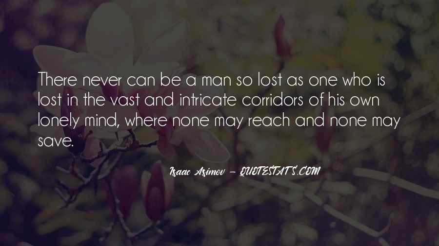 Quotes About Lonely Man #161578
