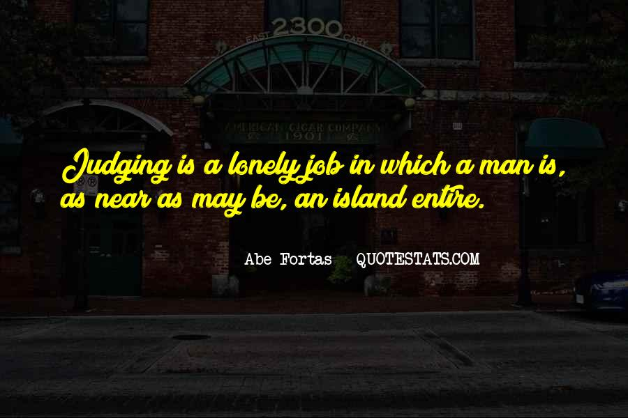 Quotes About Lonely Man #1699771