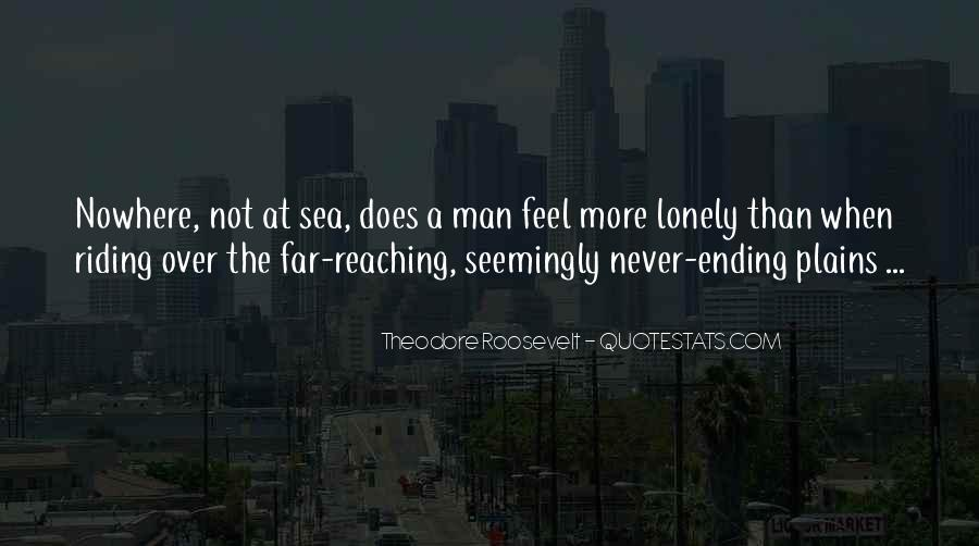 Quotes About Lonely Man #209952