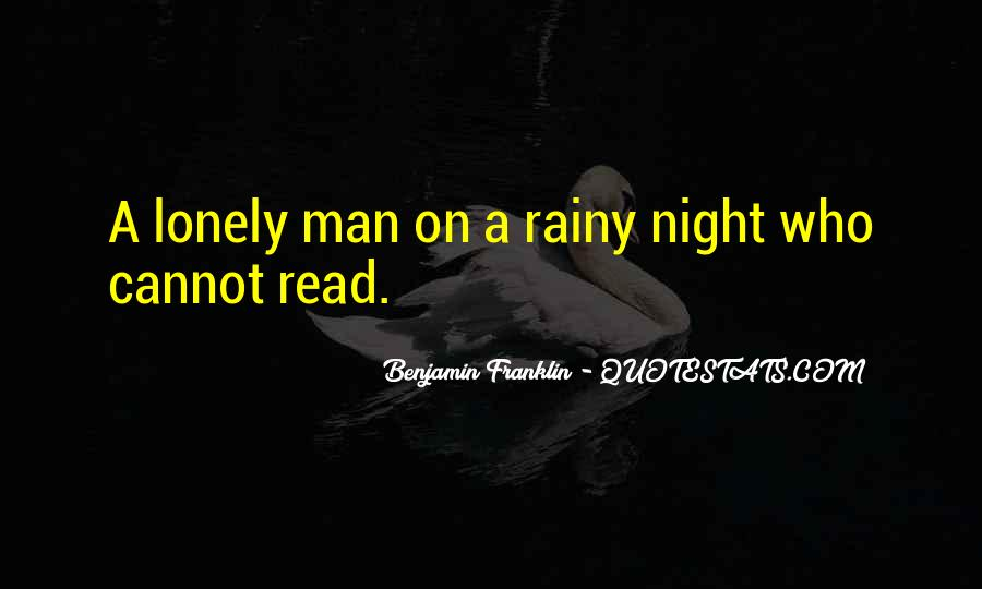 Quotes About Lonely Man #526699