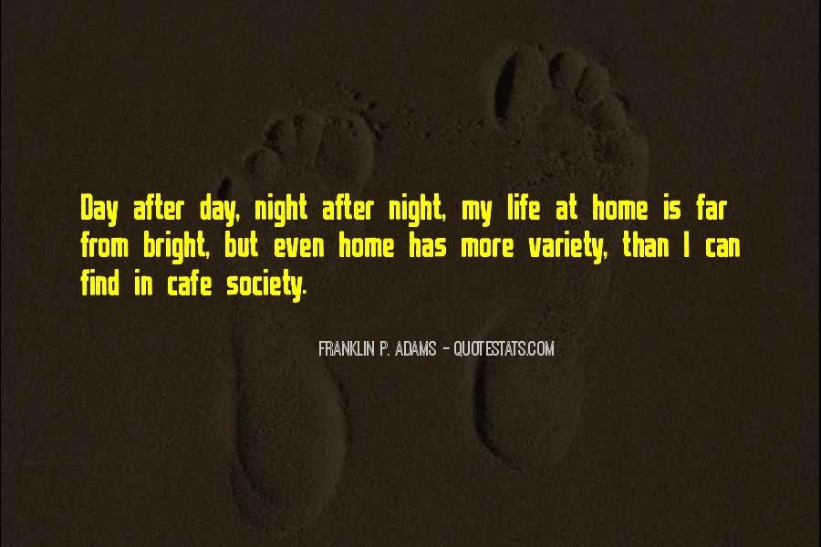 Quotes About Cafe Life #1139987