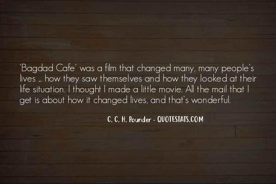 Quotes About Cafe Life #351160