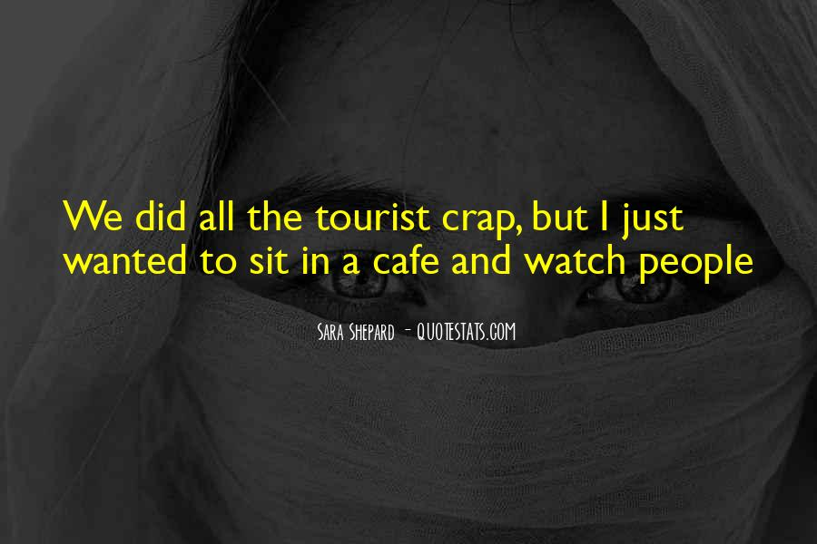 Quotes About Cafe Life #615915