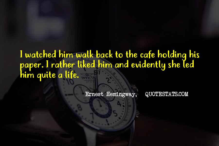 Quotes About Cafe Life #695077