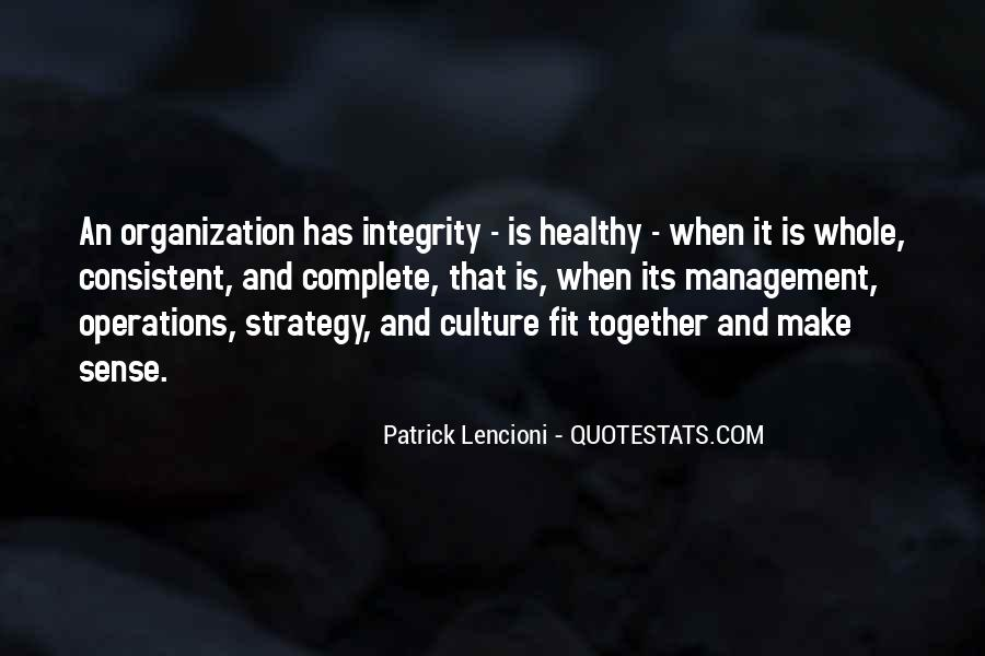 Quotes About Culture And Strategy #1552925