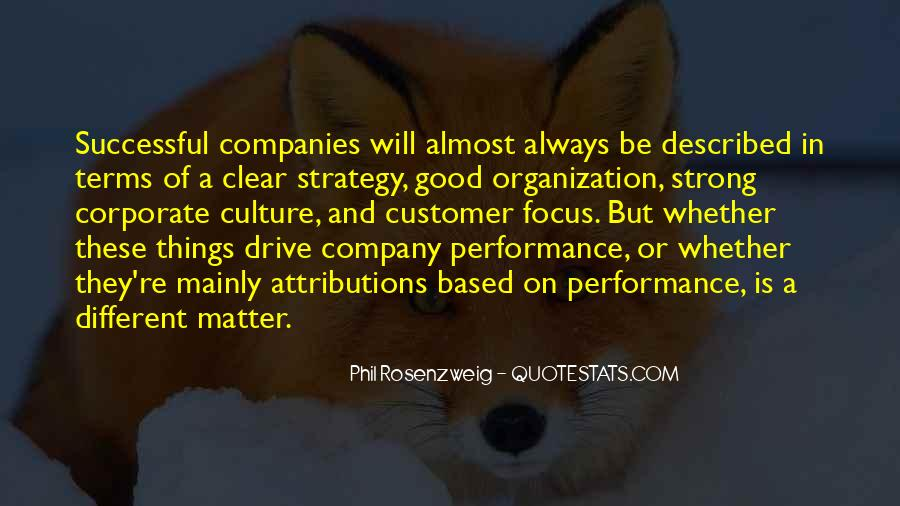 Quotes About Culture And Strategy #284404