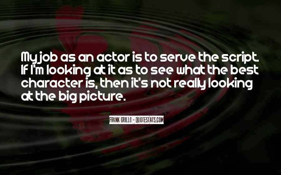 Quotes About Looking At The Big Picture #901939