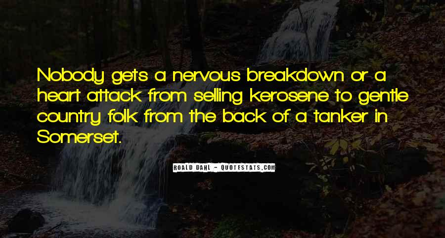 Quotes About Having A Nervous Breakdown #1212878
