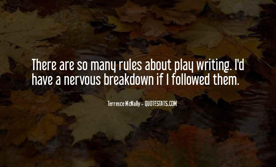 Quotes About Having A Nervous Breakdown #650601