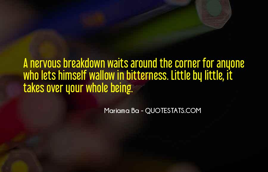 Quotes About Having A Nervous Breakdown #963156