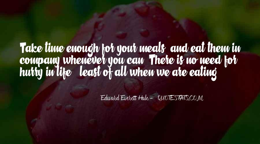 Quotes About Food And Meals #1044670