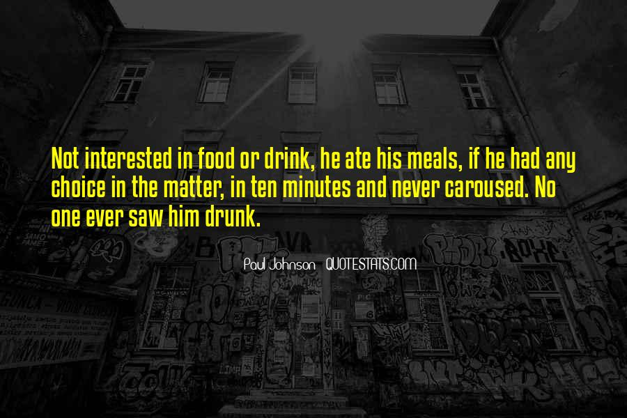 Quotes About Food And Meals #1482657