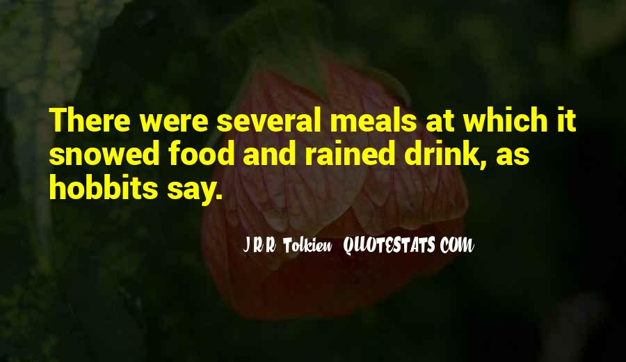 Quotes About Food And Meals #1598175