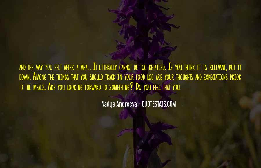 Quotes About Food And Meals #1855395