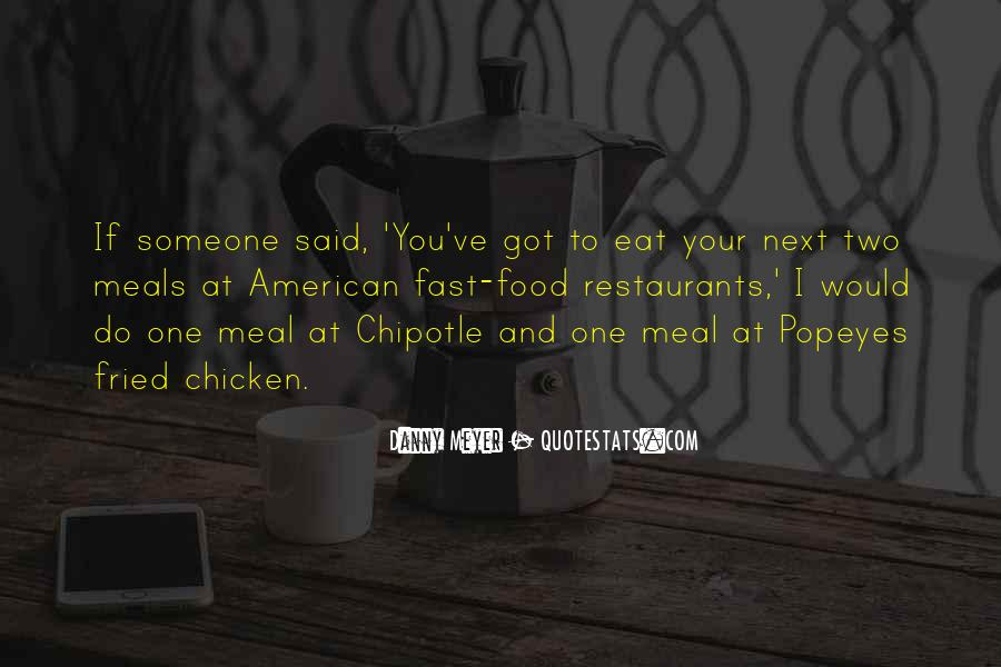 Quotes About Food And Meals #787097