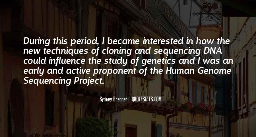 Quotes About Dna Sequencing #161382