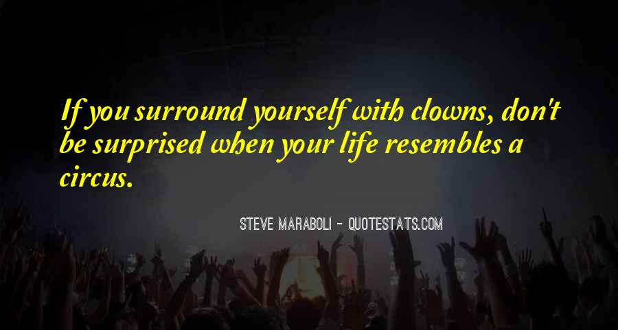 Quotes About Clowns Life #69266