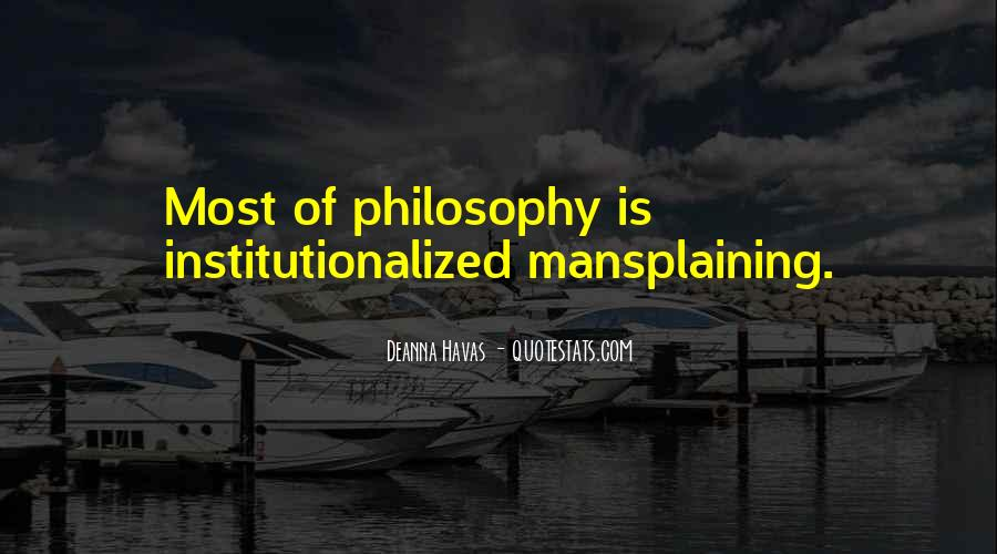 Quotes About Mansplaining #1381925