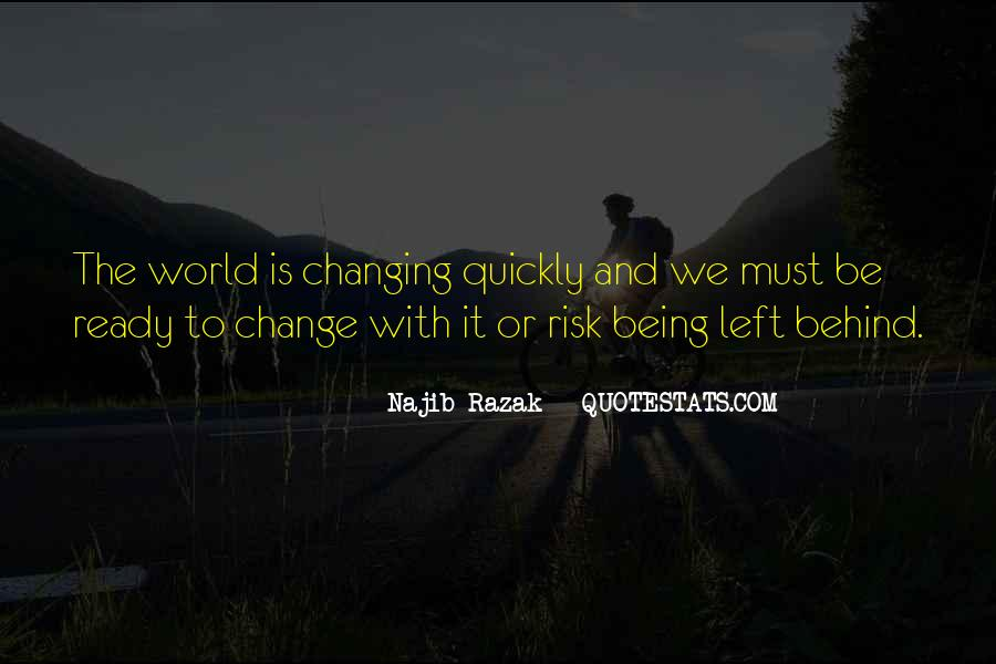 Quotes About Changing World #37768