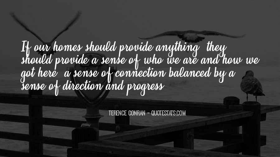 Quotes About Sense Of Direction #1029469