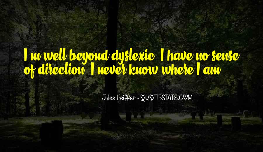 Quotes About Sense Of Direction #1067344