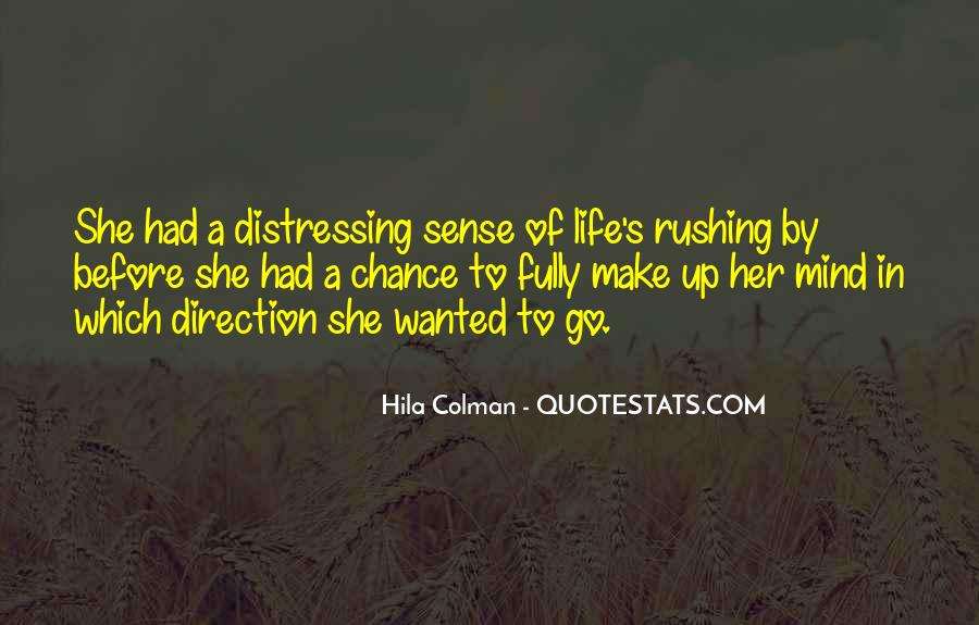 Quotes About Sense Of Direction #1143274