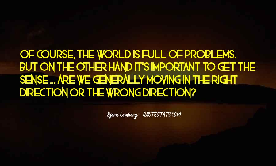 Quotes About Sense Of Direction #1168104
