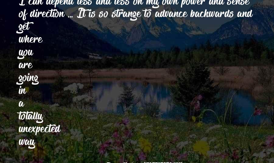Quotes About Sense Of Direction #1436201