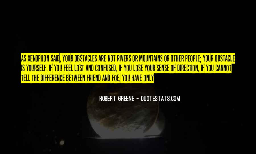 Quotes About Sense Of Direction #1723934