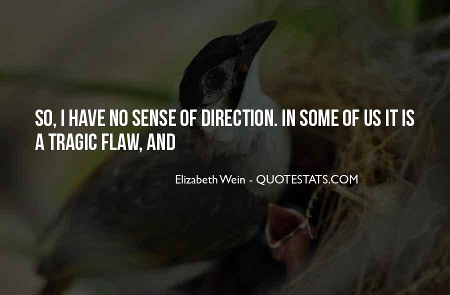Quotes About Sense Of Direction #1731015