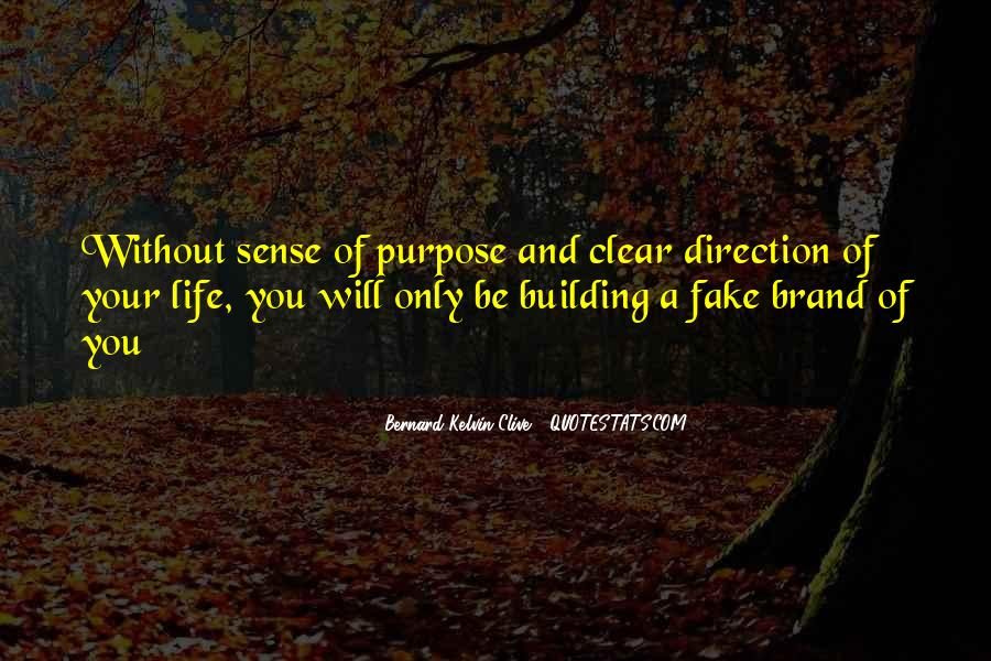 Quotes About Sense Of Direction #1850224
