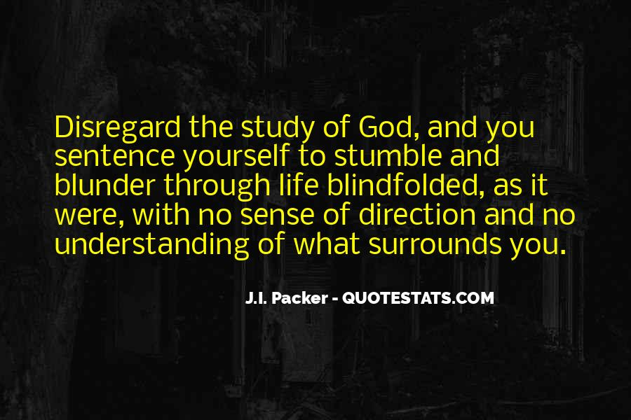 Quotes About Sense Of Direction #211528