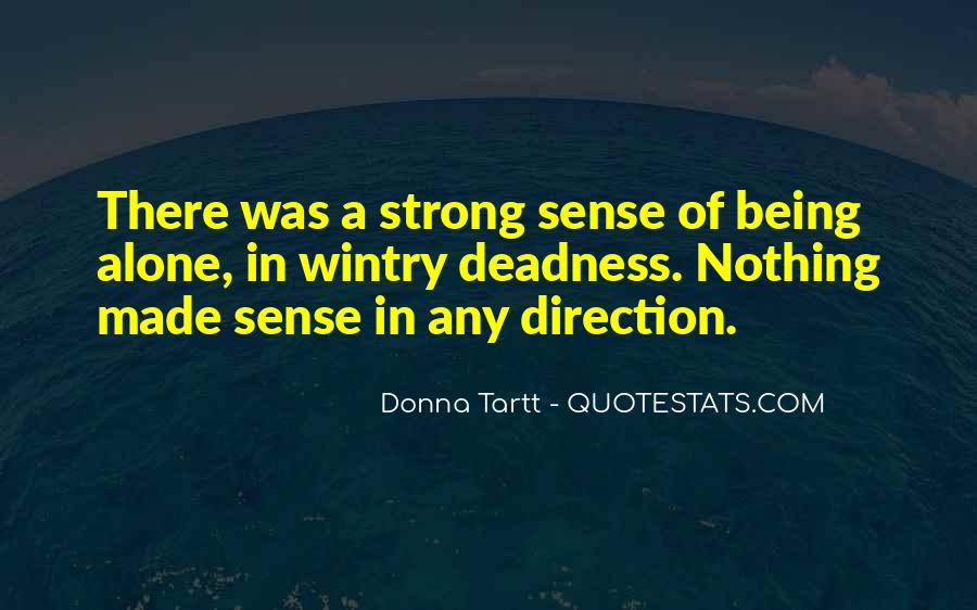 Quotes About Sense Of Direction #357644