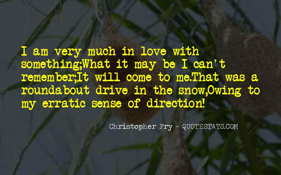 Quotes About Sense Of Direction #426748