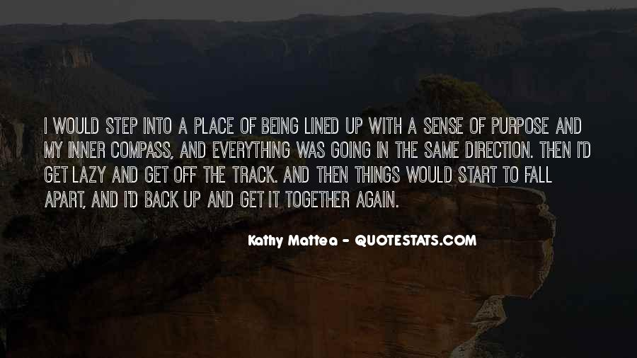 Quotes About Sense Of Direction #438049