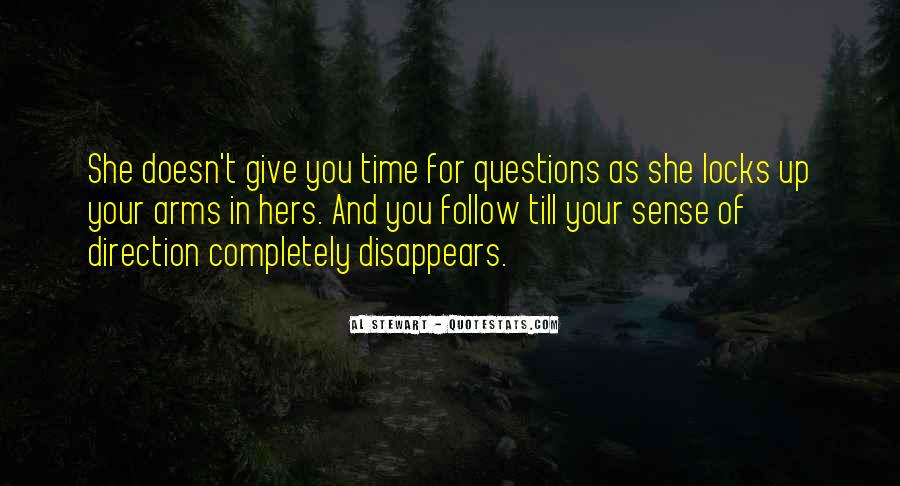 Quotes About Sense Of Direction #445796