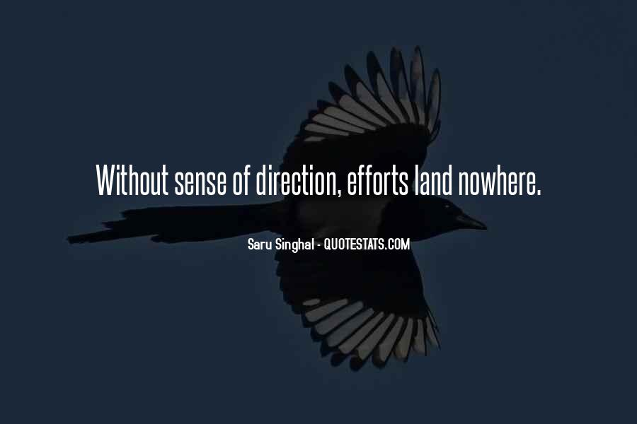 Quotes About Sense Of Direction #537701