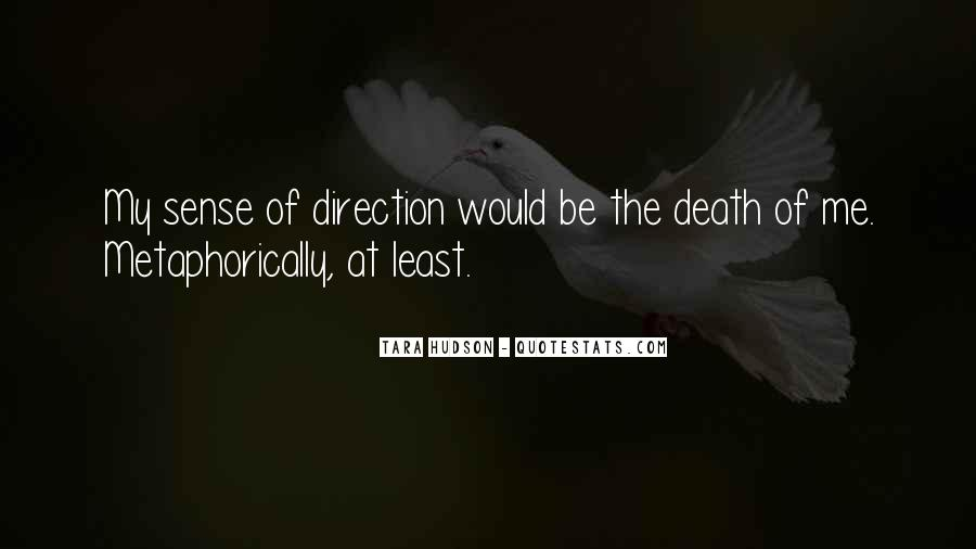 Quotes About Sense Of Direction #603015