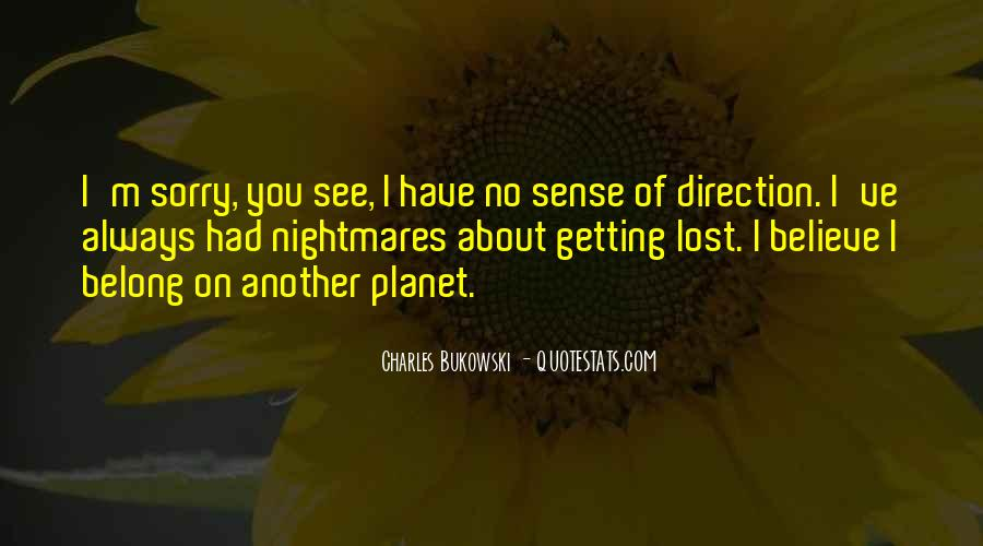 Quotes About Sense Of Direction #801900