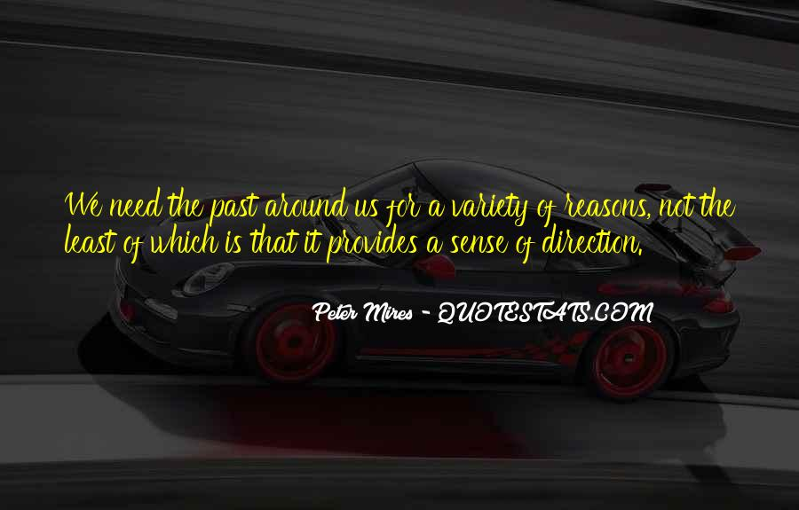 Quotes About Sense Of Direction #850190