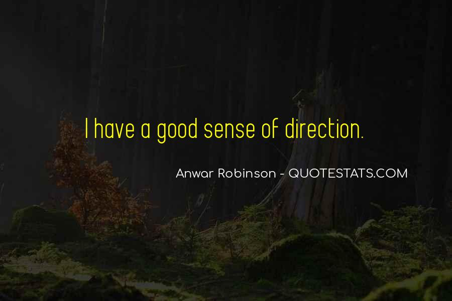 Quotes About Sense Of Direction #917134