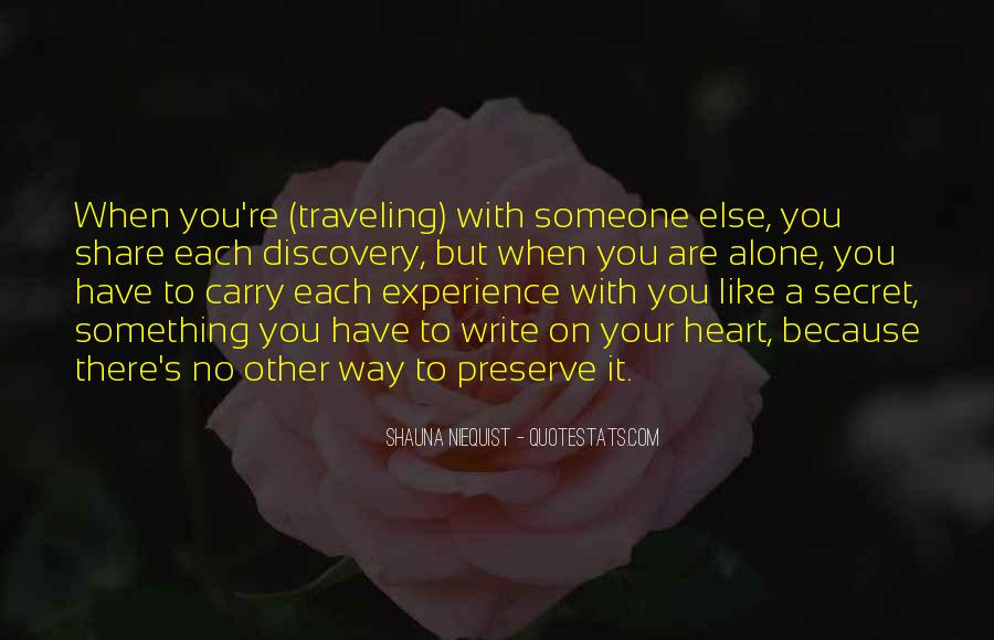 Quotes About Traveling Solo #1771807