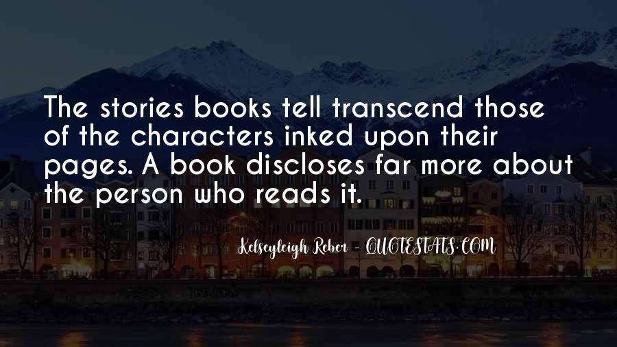 Quotes About Pages #38941